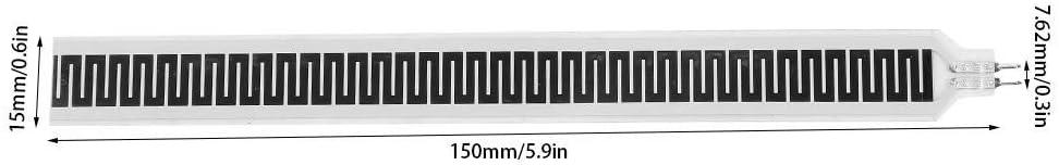 SF15-150 150 mm x 15 mm D/ünnschicht-Drucksensor vom Widerstandstyp FSR-Sensor Kraftempfindlicher Widerstand Flex-//Biegesensor Drucksensor 10 kg
