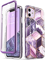 i-Blason Cosmo Series Case for iPhone 11 (2019 Release), Slim Full-Body Stylish Protective Case with Built-in