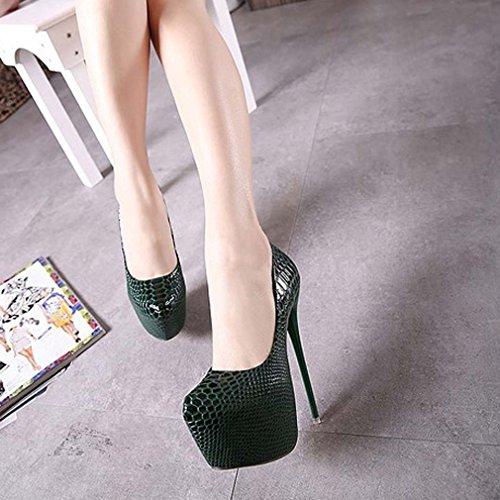 Vert Pour Femme Escarpins Solshine Pour Solshine Femme Solshine Vert Pour Escarpins Escarpins TFg5qw1