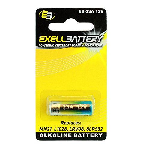 e 12V Battery Replaces 27A, A27, B-1, CA22, EL-812, EL812, G27A, GP27A, L828, MN27, R27A FAST USA SHIP ()
