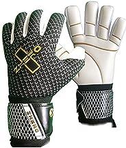 ZHERO GK Goalkeeper Gloves Saturn Evolution, 4mm German Latex GIGA Latex Negative Cut, Soccer Goalie Kids, You