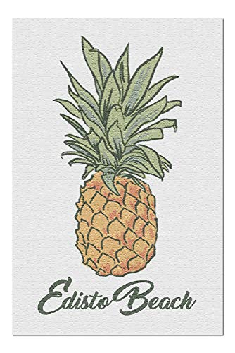 Edisto Beach, South Carolina - Pineapple - Icon (20x30 Premium 1000 Piece Jigsaw Puzzle, Made in USA!)