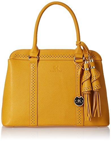 Diana Korr Layla Women's Shoulder Bag (Yellow) (DK21YEL)