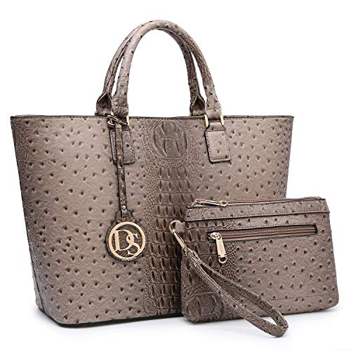 Fashion Women Tote Handbags Vegan Leather Satchel Purse Shoulder Bag with Matching Wallet ()