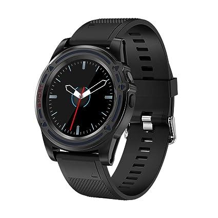 Reloj inteligente Bluetooth, SW18 Pantalla redonda redonda ...