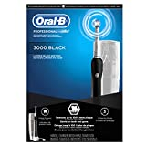 Oral-B Power PRO 3000 Electric Rechargeable Black Power Toothbrush Powered by Braun