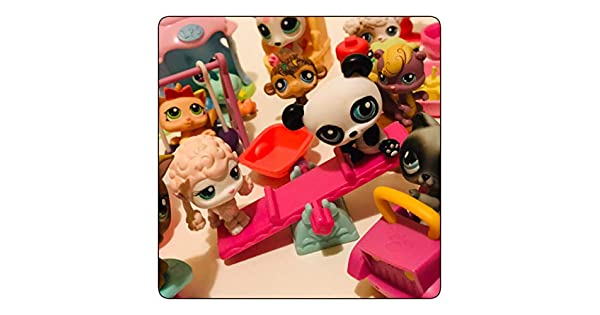 Amazon.com: LPS Littlest Pet Shop - Lote de 10 mascotas ...