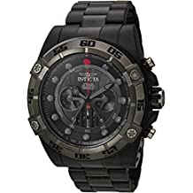 Invicta Men's 'Star Wars' Quartz Stainless Steel Casual Watch, Color:Gold-Toned (Model: 26525)
