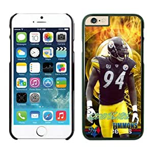 Pittsburgh Steelers Lawrence Timmons iPhone 6 Plus NFL Cases Black 5.5 Inches NIC14119