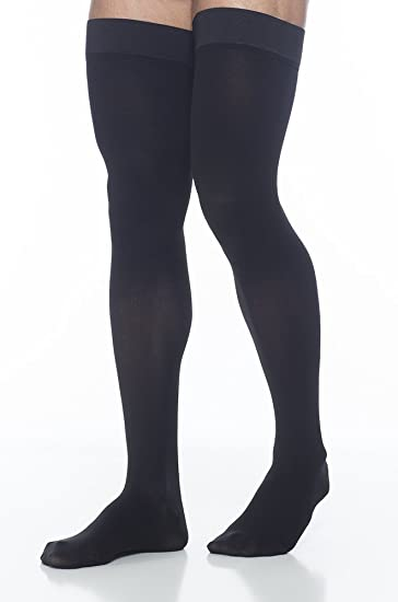 3c34dee57a Image Unavailable. Image not available for. Color: SIGVARIS Men's Access 970  Closed-Toe Thigh High Medical Compression 20-30mmHg