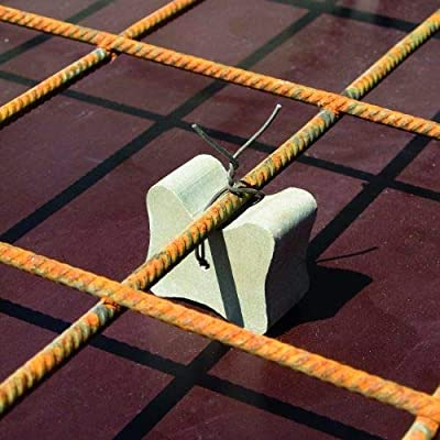 Concrete Double Cover Rebar Biscuits Mesh Fabric Tie On Spacers