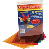 Hygloss Cello Sheets, 8.5 by 11-Inch, 48-Pack