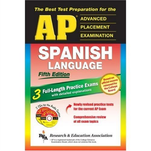 AP Spanish 5th Edition with Audio CDs (Advanced Placement (AP) Test Preparation)