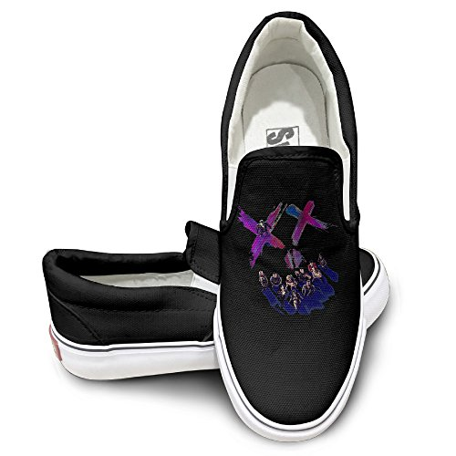 TAYC Suicide Squad Team Personality Flats-Shoes Black (Boogie Man Costume)
