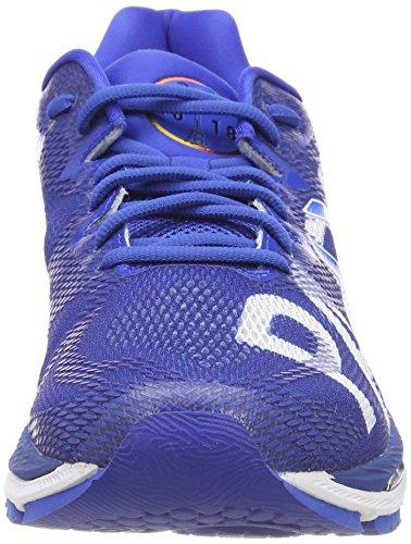 Asics Dames Gel Nimbus 20 Parijs Marathon Loopschoenen Blauw (imperial / White4545)