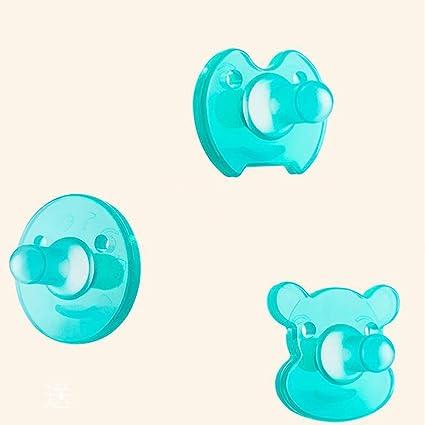 SHYI Chupete de bebé 0-18 Meses Gel de sílice Materiales no tóxicos ...