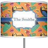 RNK Shops Toucans 13'' Drum Lamp Shade Polyester (Personalized)
