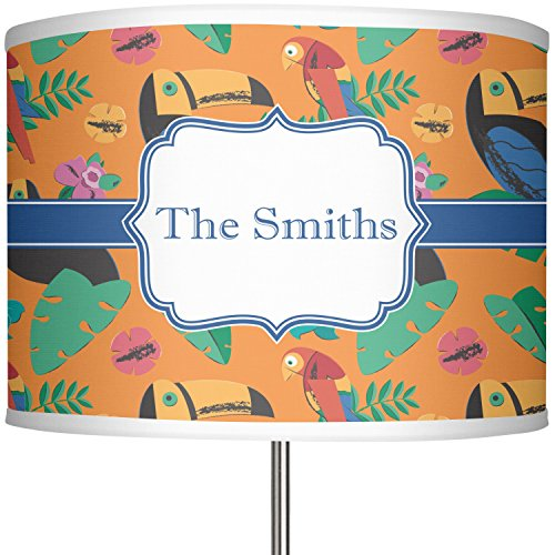 RNK Shops Toucans 13'' Drum Lamp Shade Polyester (Personalized) by RNK Shops