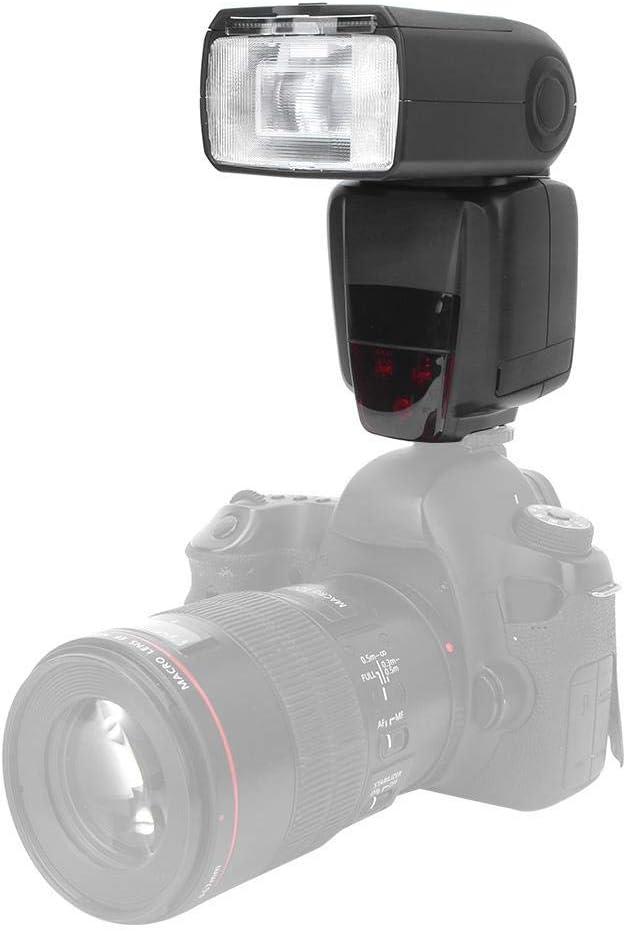 Mugast Camera Flash Event Photography,etc Wedding ABS Wireless Camera Flash 2.4G Camera TTL Speedlite for Canon 5D2//5D3//5D4//5DS//6D//6D2 Suitable for Portrait