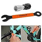 Oumers-Estrattore-di-Crank-Bicicletta-Strumento-per-la-rimozione-di-Crank-per-Biciclette-Adatto-per-Square-Threaded-Taper-Crankset