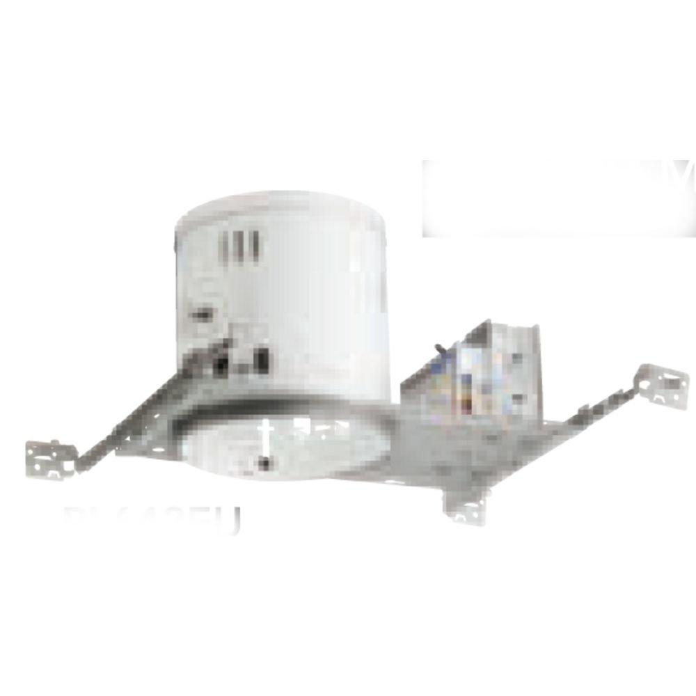 Juno Lighting PL642EU 6-Inch Non-IC Rated 42W Triple Vertical CFL Housing, 120V HPF Ballast