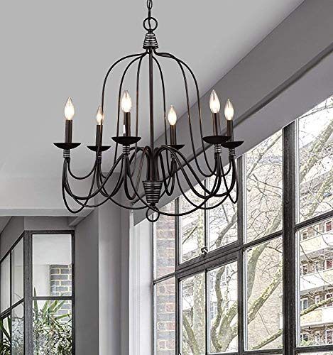 Antique Wrought Iron Pendant Lighting in US - 4
