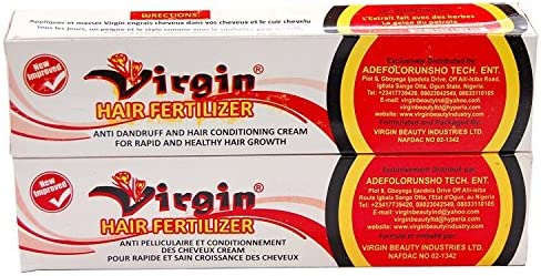 virgin hair fertilizer now wears a brand new title (2 laptop pack), 125g