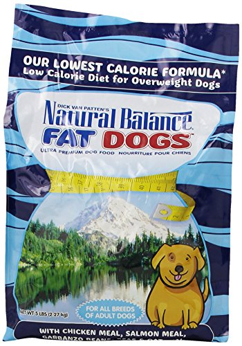 NATURAL BALANCE 236031 6-Pack Fat Dogs Low Calorie Dry Dog Food, 5-Pound by Natural Balance