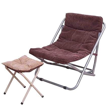 ACZZ Silla de gravedad cero, silla reclinable plegable ...