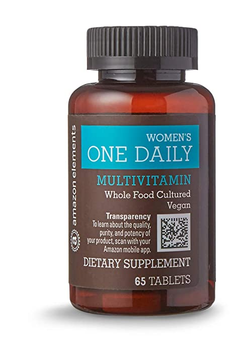 Amazon Elements vegan multivitamin for women