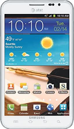 Samsung Galaxy Note 4G Android Phone, White (AT&T)
