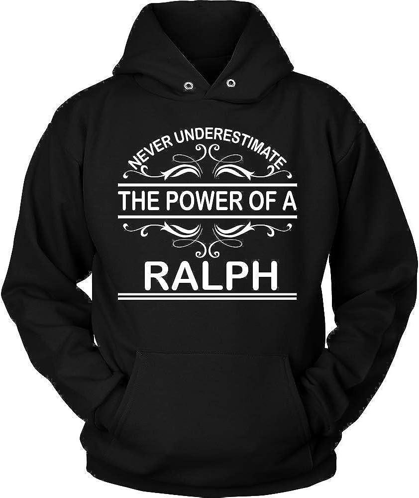 KENTEE Never Underestimate The Power of Ralph Hoodie Black Hoodie Black