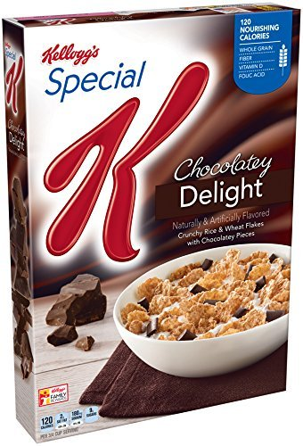 Special K Kellogg's Cereal, Chocolaty Delight (13.1 Ounce Pack of 2)