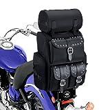 Viking Extra Large Studded Motorcycle Sissy Bar Bag
