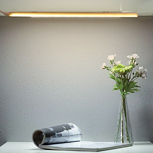 Ryham Dimmable LED Under Cabinet Lighting, 15inch, Warm White, 3000K, 3M and Magnet Mounted, USB Powered LED Closet Light Bar, Under Counter Lighting-8W by Ryham (Image #6)