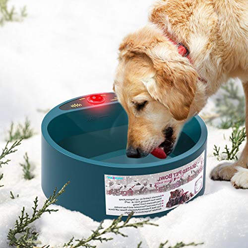 PETLESO Heated Dog Water Bowl - Outdoor