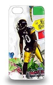 Iphone Hard 3D PC Case Cover For Iphone 5c NFL Pittsburgh Steelers Santonio Holmes #10 ( Custom Picture iPhone 6, iPhone 6 PLUS, iPhone 5, iPhone 5S, iPhone 5C, iPhone 4, iPhone 4S,Galaxy S6,Galaxy S5,Galaxy S4,Galaxy S3,Note 3,iPad Mini-Mini 2,iPad Air )