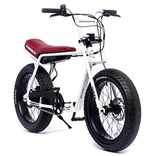 (Super 73 Z1 Electric Motorbike, 36V Lithium Ion Battery 500 Watt Rear Hub Motor, Full Throttle E-Bike)