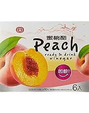 Shih Chuan Peach Vinegar Drink, Peach, 140 ml (Pack of 6)