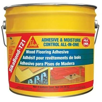 Sika Sikabond T21 Wood Floor Adhesive 4 Gallon Urethane Adhesive