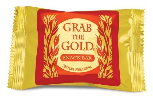 Grab The Gold Energy Snack Bars, Box of 12 Bars