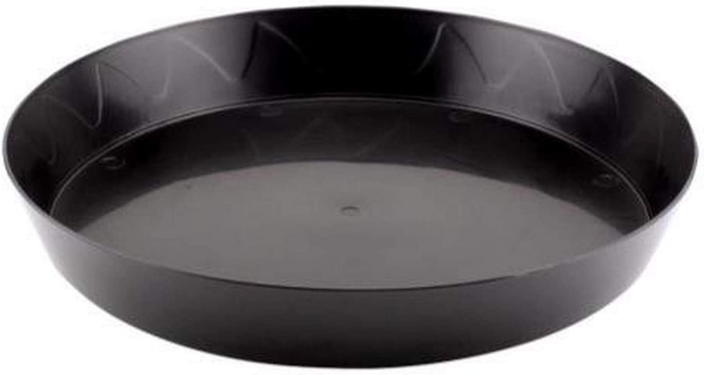 Gro Pro Heavy Duty Saucer with Tall Sides 25 Inch, Black