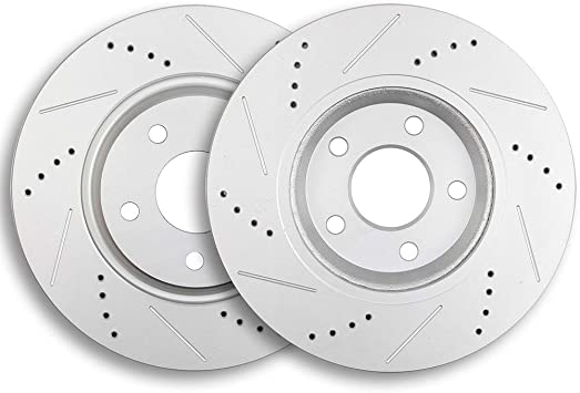 Front Drill Slot Brake Rotors /& Ceramic Pads For 2006 2007 2008-2011 Chevy HHR