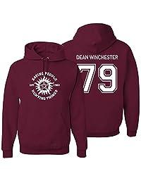 Adult Supernatural Dean Winchester Hoodie