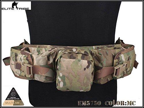 paintball airsoft militar cangurera táctico francotirador paquete de la cintura Multicam MC Military Outdoor