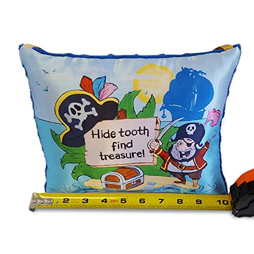 Boys Plush Pirate Tooth Fairy Pillow 10