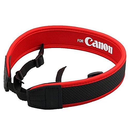UTP Red Neoprene Shoulder Neck Strap for Canon Camera EOS 5D 7D 60D 300D 400D 550D 1000D 1100D DSLR -