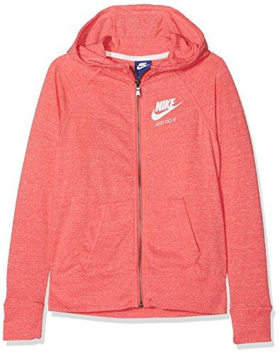sail cappuccio Vntg Felpa Nike Fz G Filles sea Rose Sweat con Multicolore Nsw Coral 5UwqO