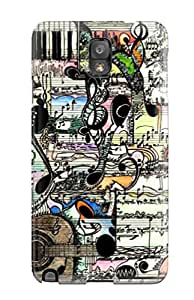 Special IsabellaSuee Skin Case Cover For Galaxy Note 3, Popular Music Art Phone Case