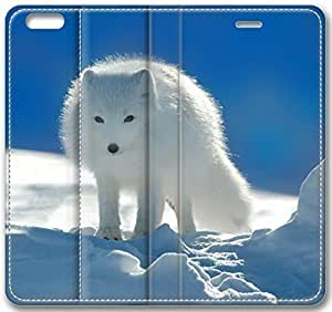 Animal Arctic Fox Case for iPhone 6 Plus 5.5 inch(Compatible with Verizon,AT&T,Sprint,T-mobile,Unlocked,Internatinal) in GUO Shop